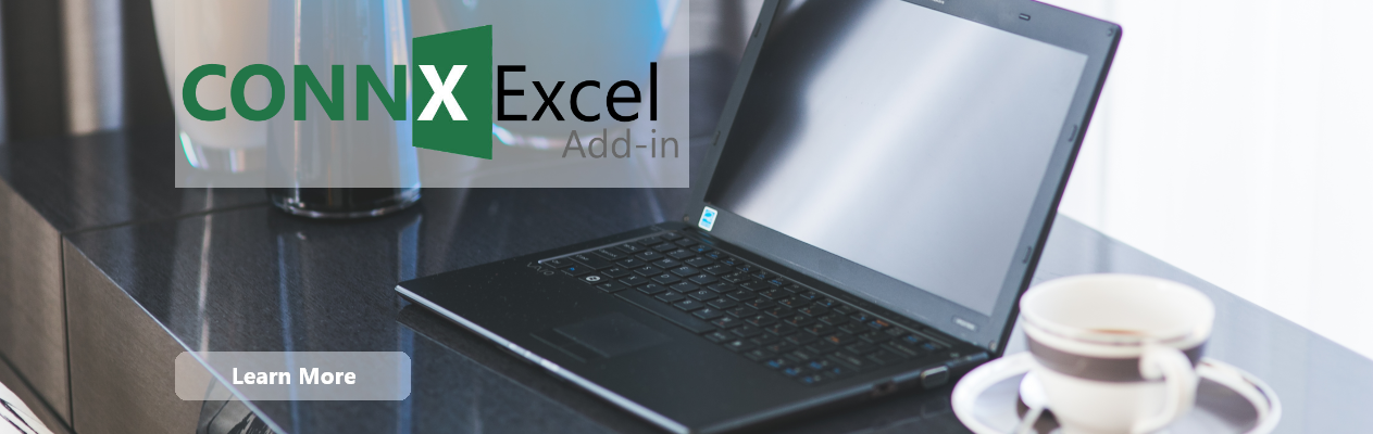 CONNX Excel Add-In